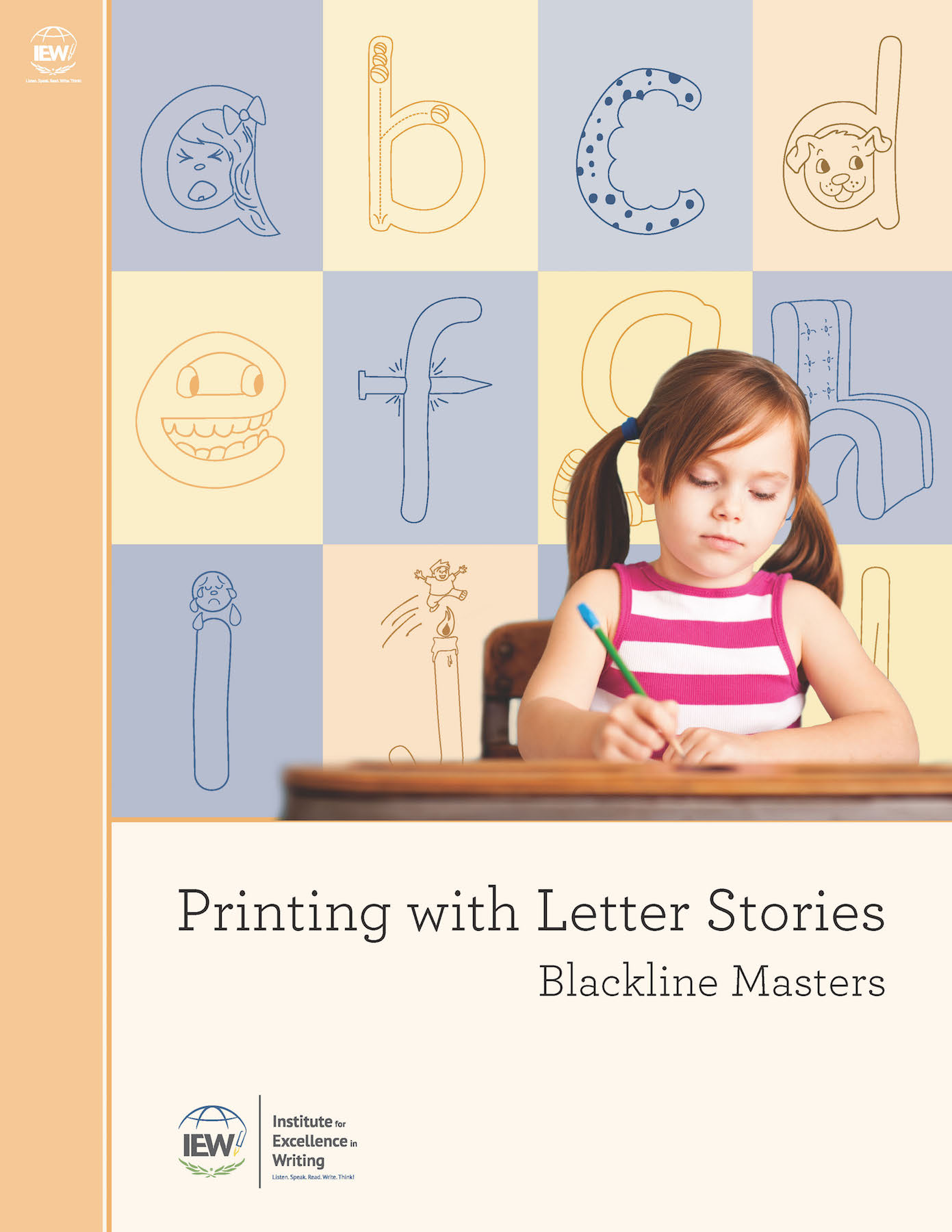 Printing With Letter Stories [Blackline Masters]